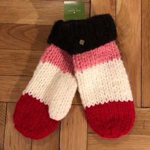 Kate Spade Colorblock Mittens- NWT